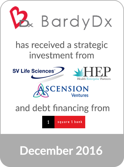 cascadia capital an investment bank serving middle market clients globally today announced its client bardy diagnostics inc the maker of the carnation