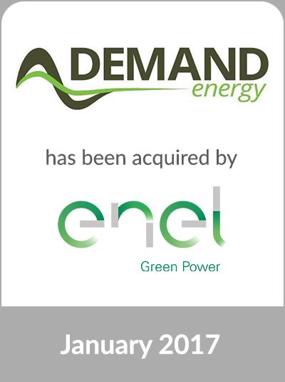 Cascadia Capital Advises Demand Energy Networks Inc On