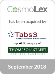 Cascadia Capital Advises CosmoLex on its Acquisition by